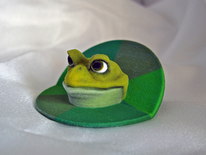 Bachelor Frog in Full Color Sandstone