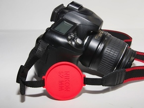 Photo Cap Saver 52 mm 2.0 in Black Strong & Flexible