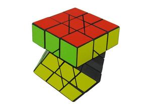 Squashed Cube in White Strong & Flexible