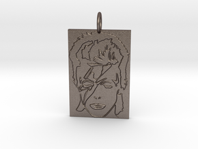 David Bowie Pendant in Stainless Steel