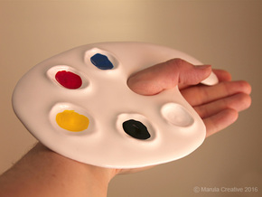 Palette for paint in Gloss White Porcelain