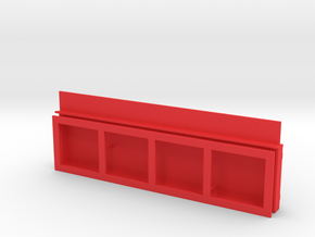 Schaukasten in Red Strong & Flexible Polished