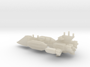 Clipper-Class Fast Transport in White Acrylic