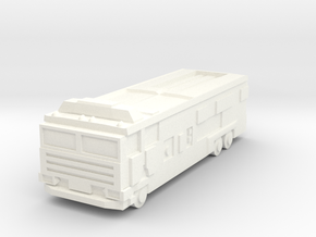 Generic Modern Firetruck  6mm in White Strong & Flexible Polished