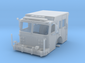 1/87-scale Fire Apparatus Cab in Frosted Ultra Detail