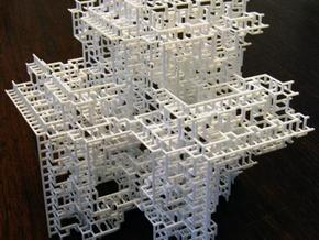 Fractal Graph 3 in White Strong & Flexible