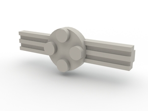 Brick Tie Clip- 4 Stud Type II in White Strong & Flexible Polished