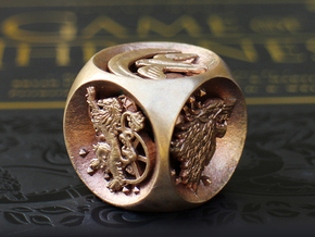 Dice of Thrones (Raw Bronze) in Raw Bronze