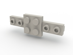 Brick Tie Clip-6 Stud Type II in White Strong & Flexible Polished