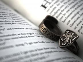Gryffindor Ring Size 7 in Stainless Steel