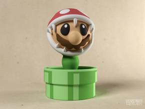 Game Over Mario in Full Color Sandstone