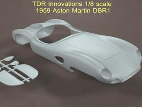 1/8 Aston Martin DBR1 in White Strong & Flexible