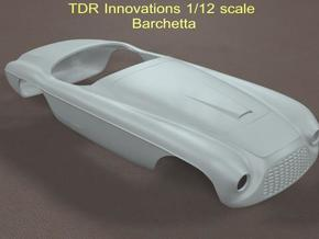 1/12 Barchetta in White Strong & Flexible