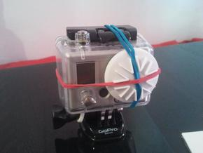 GoPro Housing Lens Cap in White Strong & Flexible
