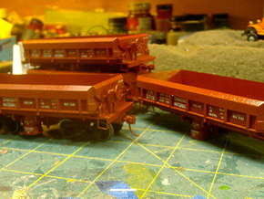 S Scale 1:64 CN / WPYR Air Dump in Frosted Ultra Detail