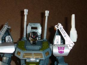 Sunlink - Stronghold Shoulder Cannon x2 TFCon in White Strong & Flexible