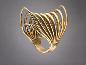 Ring 003 in Raw Bronze