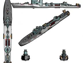 HMAS Spica 1:600 x1 in White Strong & Flexible