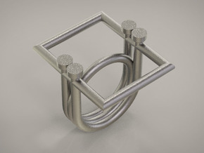 EQUAL 6 - SIZE 8 in Polished Nickel Steel
