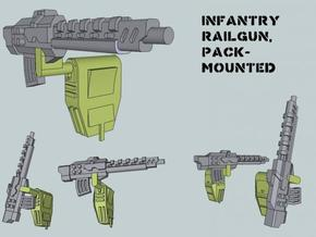 15mm Pack-Mounted Weapons in Frosted Ultra Detail