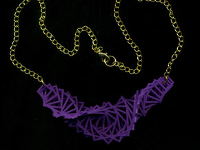 Arithmetic Necklace in Purple Strong & Flexible Polished