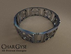 Bangle - Four Petal Flow in Frosted Ultra Detail