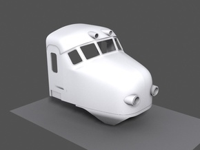 Mat '54 (1:45) in White Strong & Flexible Polished