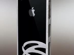 eiraSYS iPhone 4, 4S Bumper - Customizable in White Strong & Flexible Polished