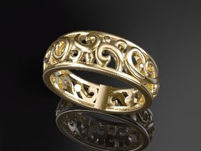 ArabesqueA-Ring US-Ring-size6.5(JP-size-#12)  in 14K Gold