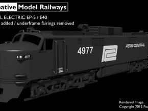 NEP503 N scale EP-5 loco - modified condition in Frosted Ultra Detail