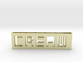 C.R.E.A.M. Moneyclip...so that Cash never dies OUT in 18k Gold Plated