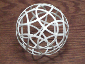 Stripsphere12 in White Strong & Flexible