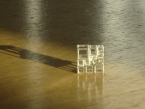 SPSS Cubes 21 in Raw Silver