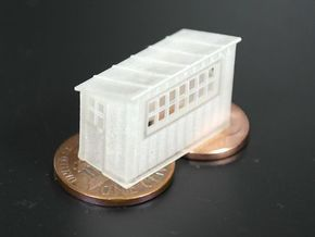 Scale House N scale (1/160) in Frosted Ultra Detail