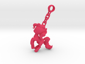 My Little Pony - Keychain Unicorn in Pink Strong & Flexible Polished