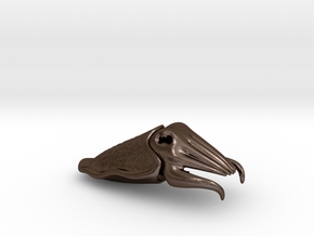 Cuttlefish Bottle Opener in Polished Bronze Steel