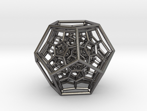 120-Cell in Polished Nickel Steel