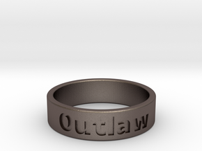 Outlaw Mens Ring 20.6mm Size11 in Stainless Steel