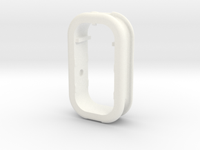Part 1 of 4 - Folding Wall Dock - Cord Holder in White Strong & Flexible Polished