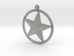Star charm in Metallic Plastic