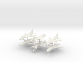 1/300 Sukhoi Su-22 (x6) in White Strong & Flexible