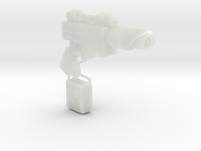 1:6 Scale Imperial Sci-Fi Pistol in Frosted Ultra Detail