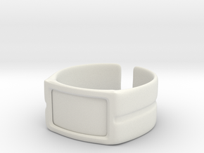Pulseira 01 in White Strong & Flexible