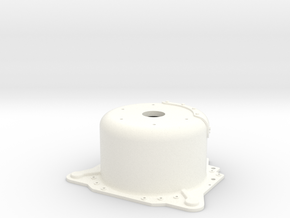 "1/12 Lenco 8.625"" Dp Bellhousing (No Starter Mnt) in White Strong & Flexible Polished"