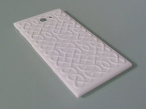 The Other Side Celtic Knots for Jolla phone in White Strong & Flexible Polished