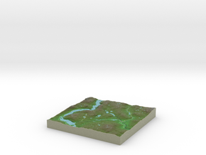 Terrafab generated model Wed Aug 06 2014 09:06:40  in Full Color Sandstone