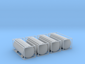 TankTainer - set of 4 - Nscale in Frosted Ultra Detail