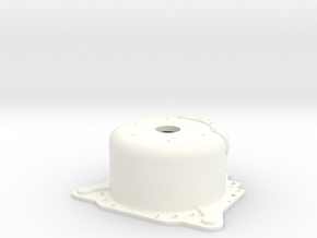 "1/12 Lenco 8.125"" Dp Bellhousing(No Starter Mnt) in White Strong & Flexible Polished"