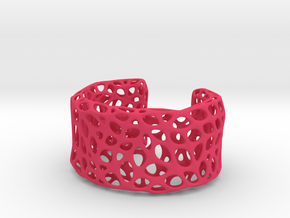 Cells Cuff (Size M) in Pink Strong & Flexible Polished