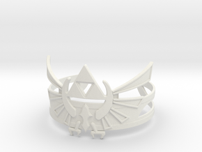 Zelda Bracelet in White Strong & Flexible
